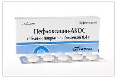 «Пефлоксацин»: инструкция по применению антибиотика, противопоказания и аналоги