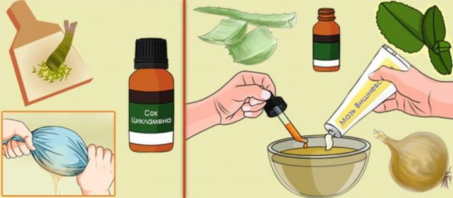 Цикламен от гайморита: применение лекарств на его основе