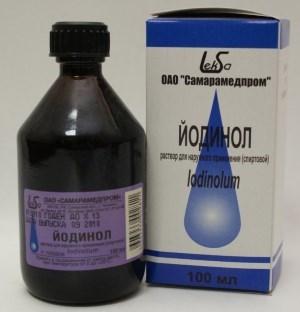 «Йодинол»: инструкция по применению для полоскания горла взрослым и детям