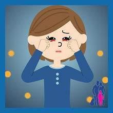 Красные глаза и сопли у ребенка: причины и лечение