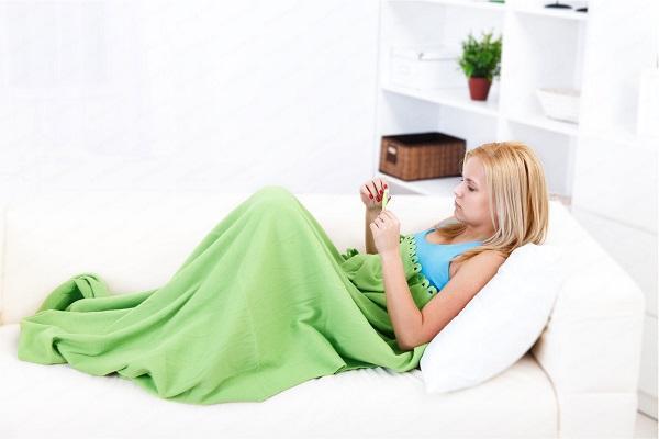 Температура при молочнице у женщин