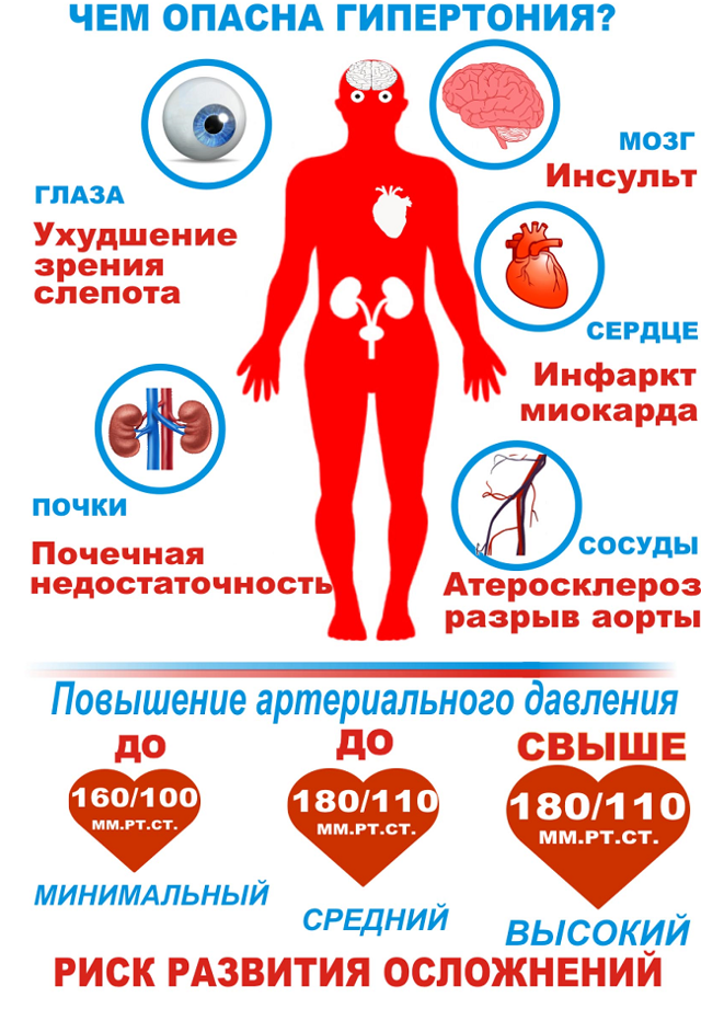 Вегето-сосудистая дистония (ВСД) по гипертоническому типу: симптомы и лечение