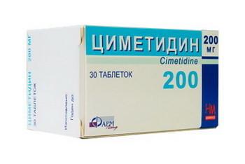 Циметидин: инструкция по применению, отзывы, аналоги, цена в Москве, состав